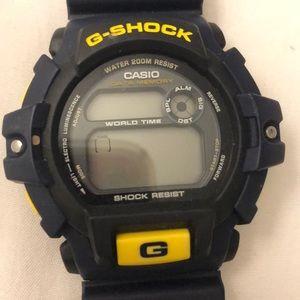 G-SHOCK water resistant watch